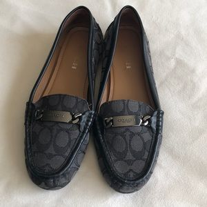 Coach loafers 10b Black